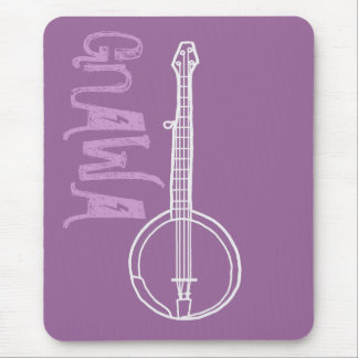 Banjo Gnawa Tapete De Ratón