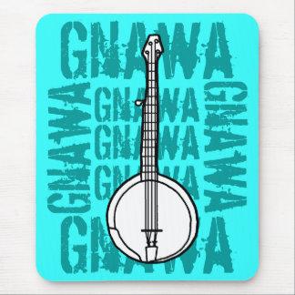 Banjo Gnawa Alfombrillas De Ratón
