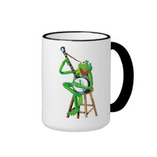 Banjo Kermit Disney Ringer Coffee Mug