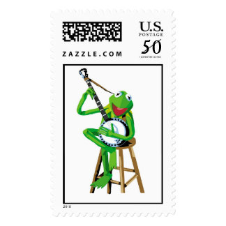 Banjo Kermit Disney Postage