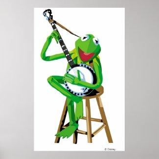 Banjo Kermit Disney print