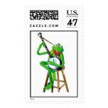 Banjo Kermit Disney Timbre Postal