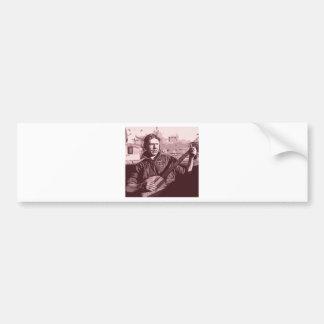 Banjo Kid Bumper Sticker