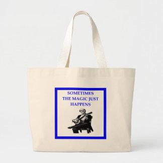 banjo large tote bag