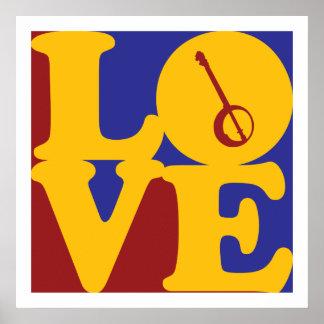 Banjo Love Poster
