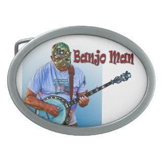 BANJO MAN BELT BUCKLE