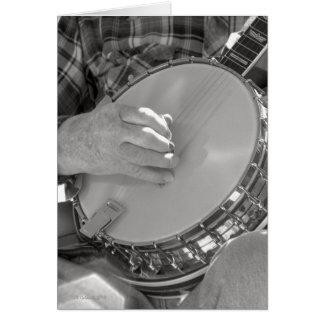 Banjo Man Card