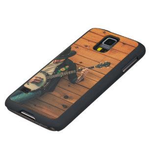 Banjo Man Carved® Maple Galaxy S5 Slim Case
