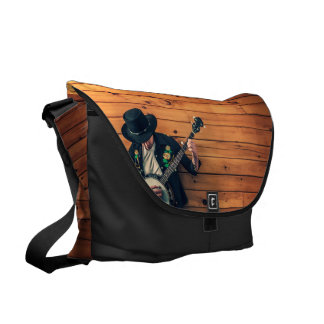 Banjo Man Messenger Bag