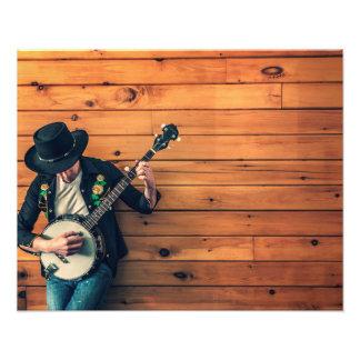 Banjo Man Photo Print