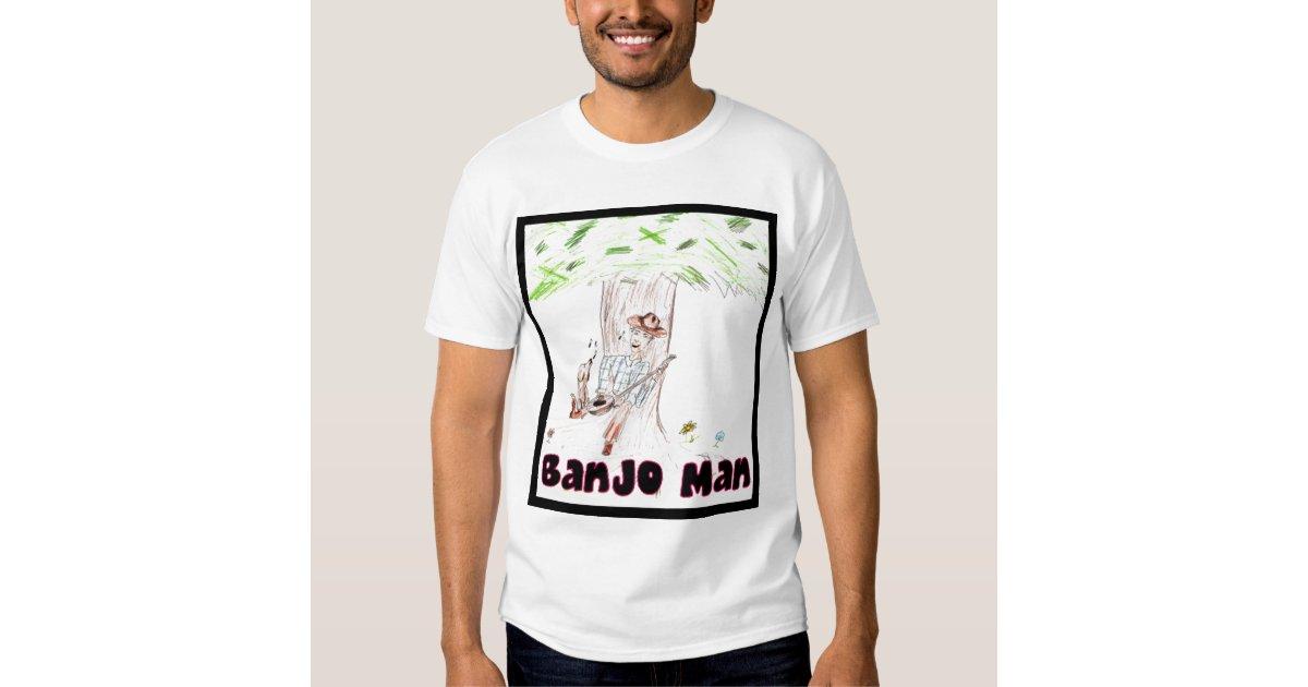 Banjo Man T Shirt Zazzle