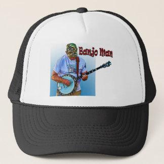 BANJO MAN TRUCKER HAT