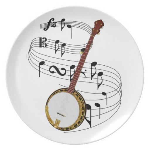 Banjo Melamine Plate