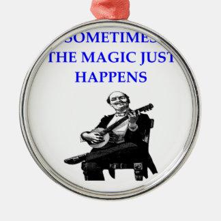 banjo metal ornament