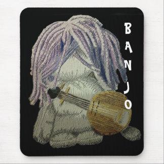 BANJO MOUSEY MOUSE PAD