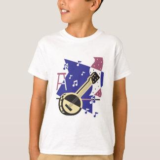 banjo music design T-Shirt