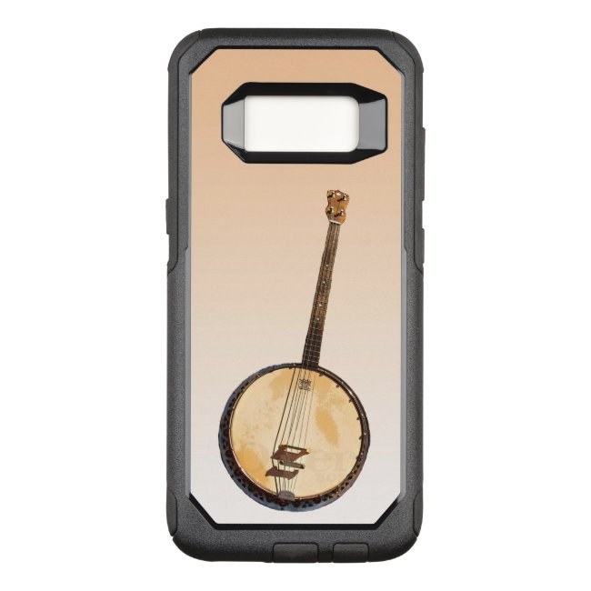 Banjo Music Instrument Orange Galaxy S8 Case