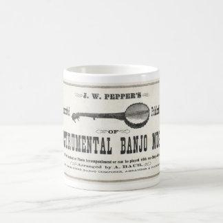 Banjo Music Mug