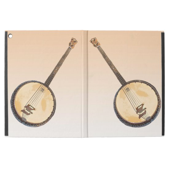Banjo Musical Instrument Powis iPad Pro Case