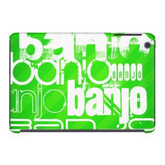 Banjo; Neon Green Stripes iPad Mini Retina Covers
