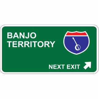 Banjo Next Exit Photo Sculpture Ornament