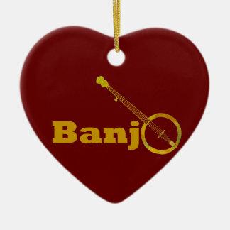 Banjo O Ceramic Ornament