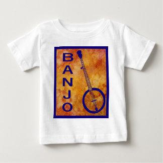 Banjo on a Fiery Field Baby T-Shirt