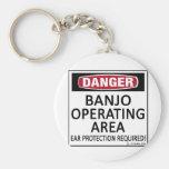Banjo Operating Area Key Chains