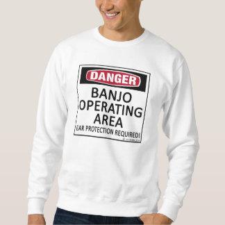 Banjo Operating Area Pull Over Sweatshirts