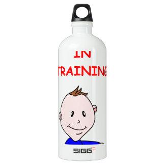 banjo picker aluminum water bottle