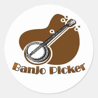 Banjo Picker Sticker