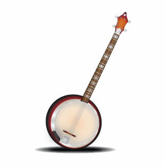 Banjo Pin Fotoescultura