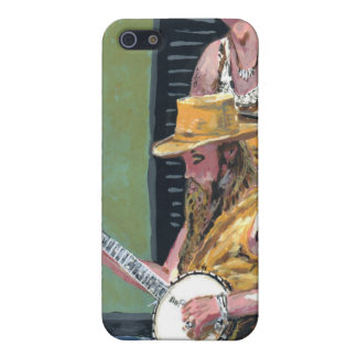 Banjo Player iPhone 5 Cover