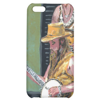 Banjo Player Case For iPhone 5C