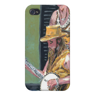 Banjo Player Case For iPhone 4