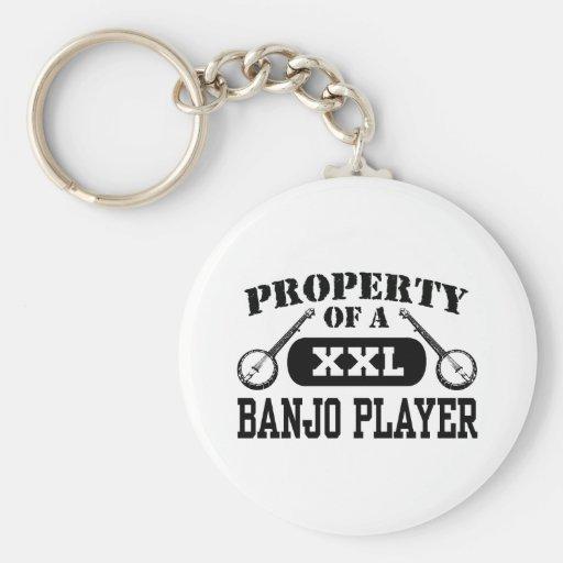 Banjo Player Keychains