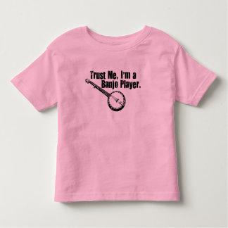 Banjo Player Toddler T-shirt