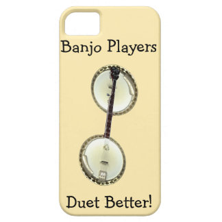 Banjo Players Duet iPhone 5 Case