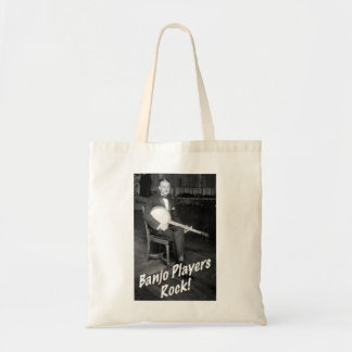 Banjo Players Rock Tote Bag