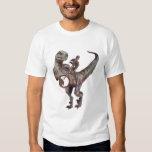 Banjo Playing Velociraptor T Shirts