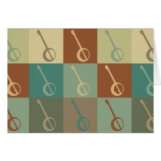 Banjo Pop Art Card