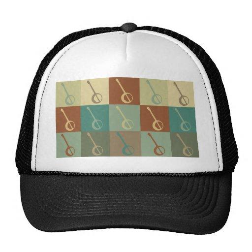 Banjo Pop Art Trucker Hat