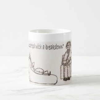 Banjo psychiatrist coffee mug