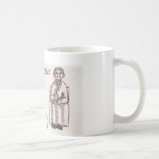 Banjo psychiatrist coffee mugs
