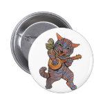 Banjo que juega el gato pins