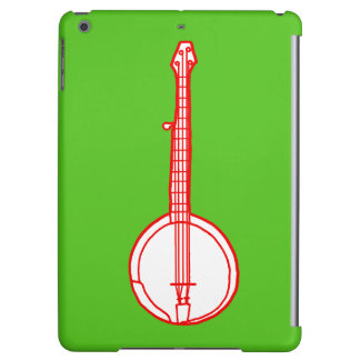 Banjo Red iPad Air Cases