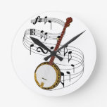 Banjo Round Wall Clocks