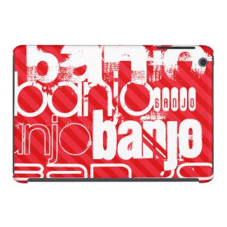 Banjo; Scarlet Red Stripes iPad Mini Retina Case