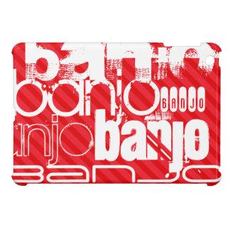 Banjo; Scarlet Red Stripes iPad Mini Cases