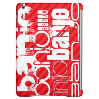 Banjo; Scarlet Red Stripes iPad Air Case